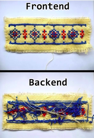 мем frontend backend